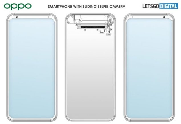 oppo fotocmera selfie mobile brevetto