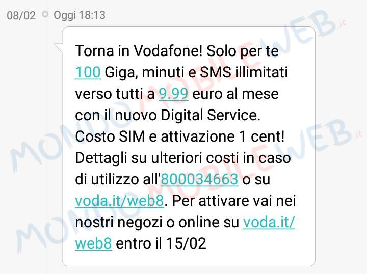 Vodafone Special 100 Digital Edition winback