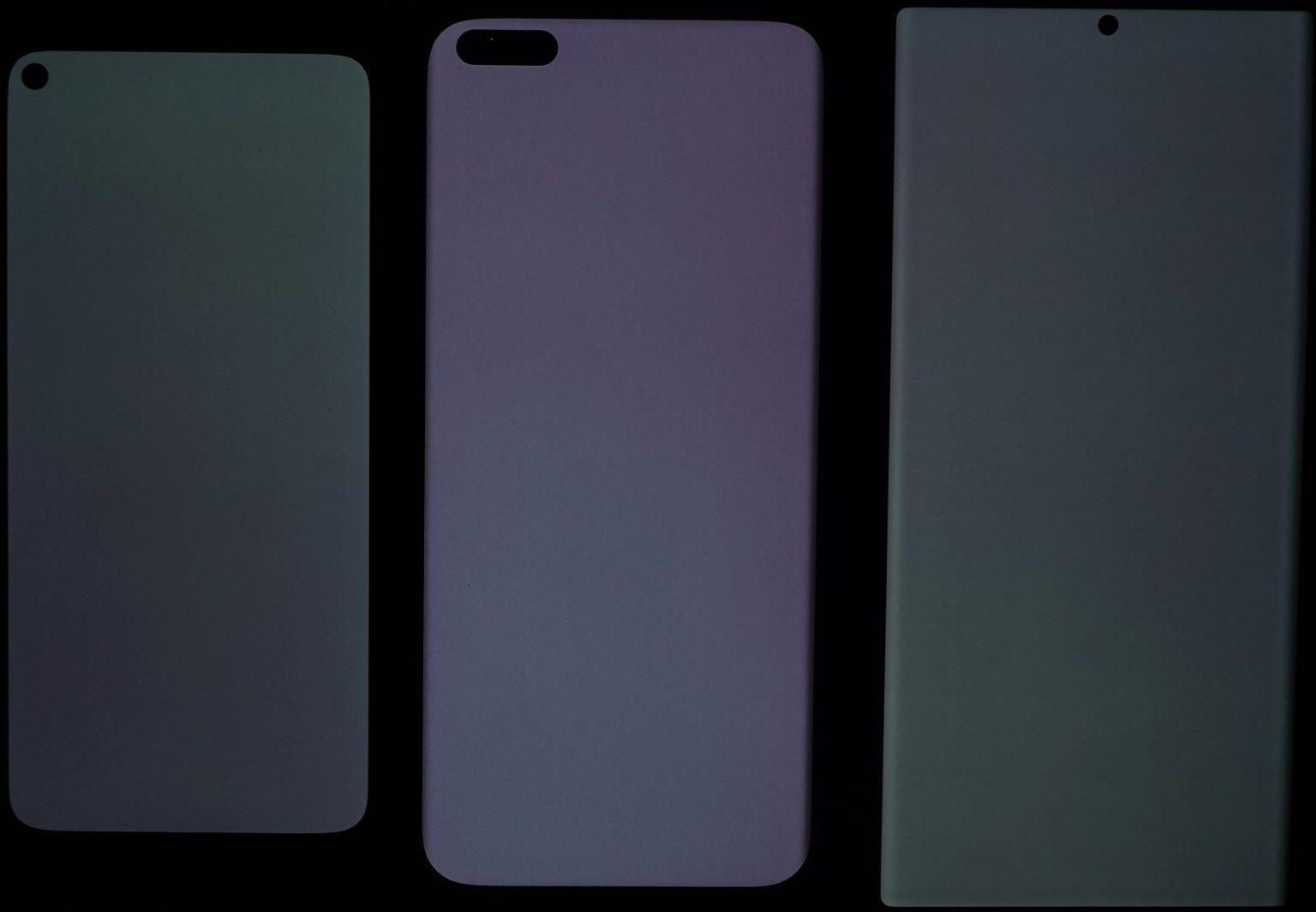uniformità colori display AMOLED