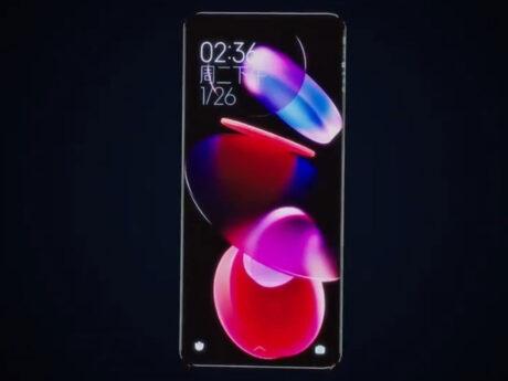 xiaomi concept smartphone senza porte tasti