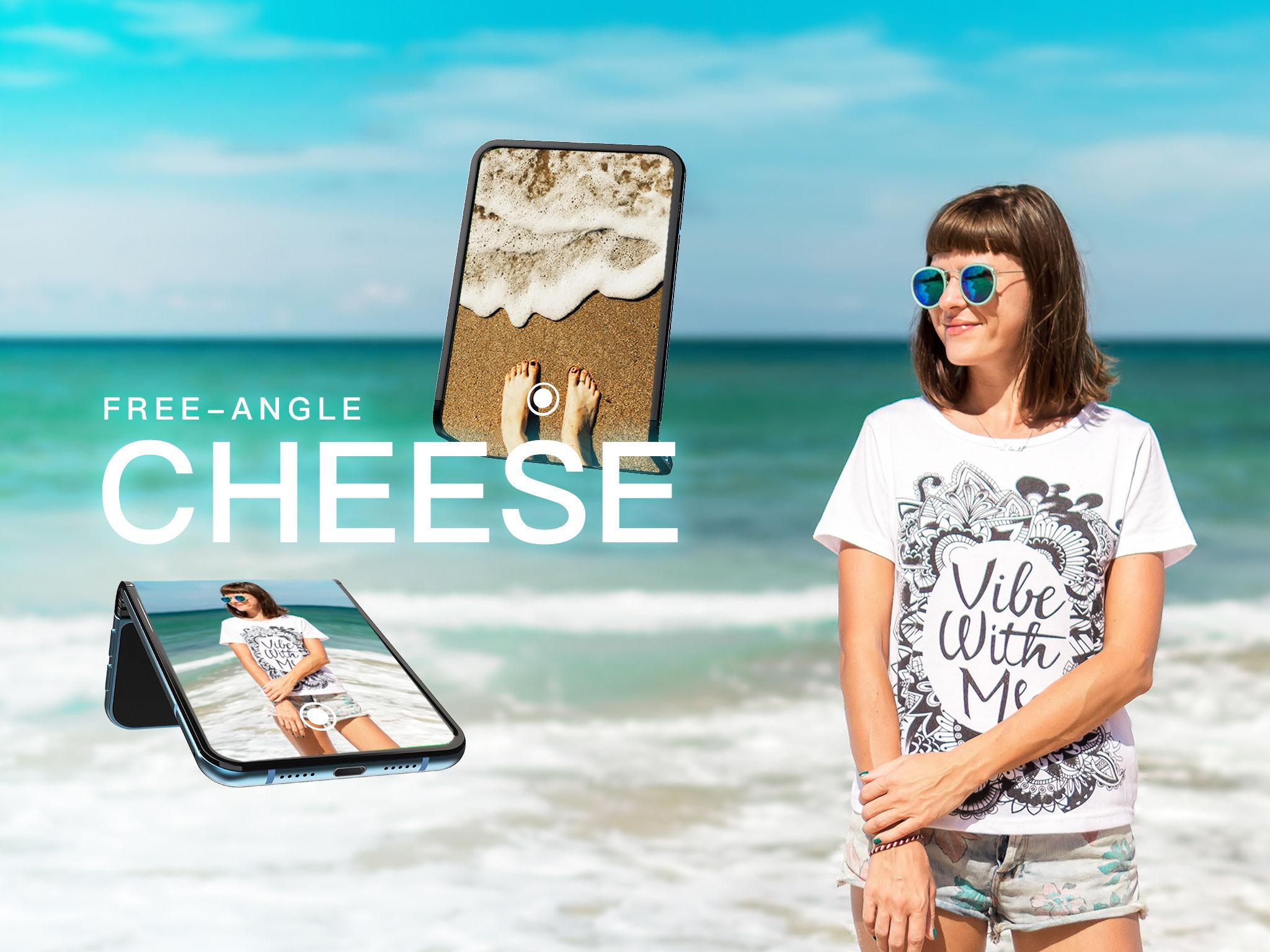 È compatto, flessibile e pensato per la fotografia il pieghevole Compal CHEESE
