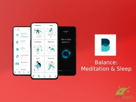 Balance Meditation & Sleep