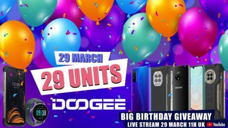 DOOGEE Birthday