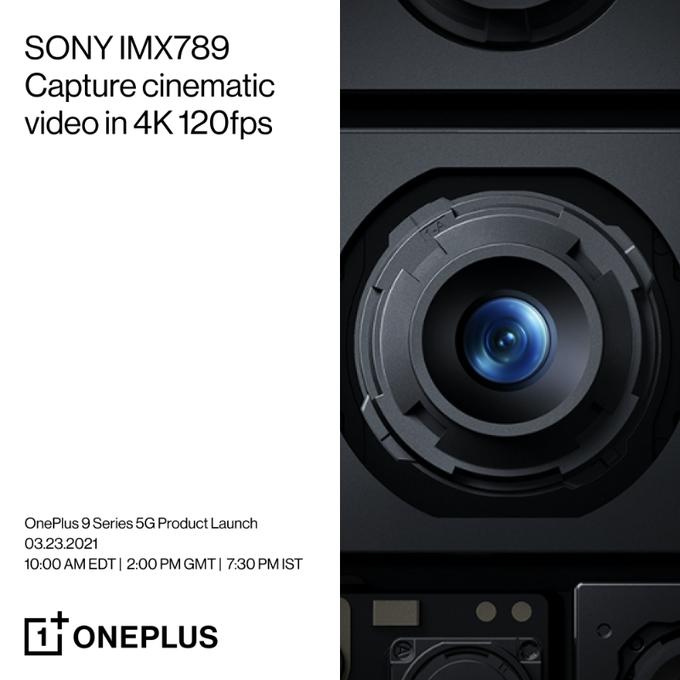 Sony IMX789 OnePlus 9