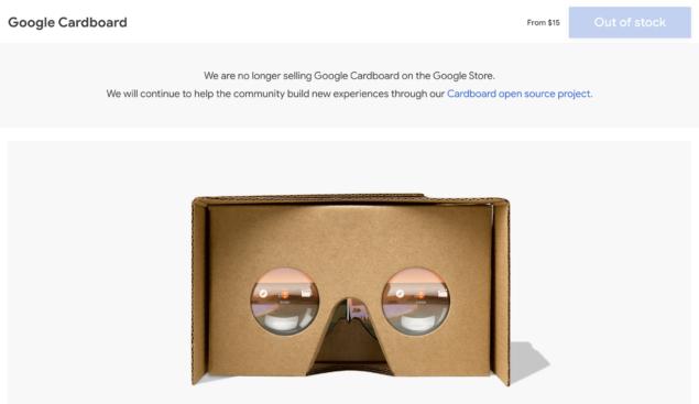 google cardboard vr screenshot