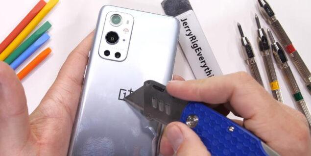 Oneplus 9 pro jerryrigeverything