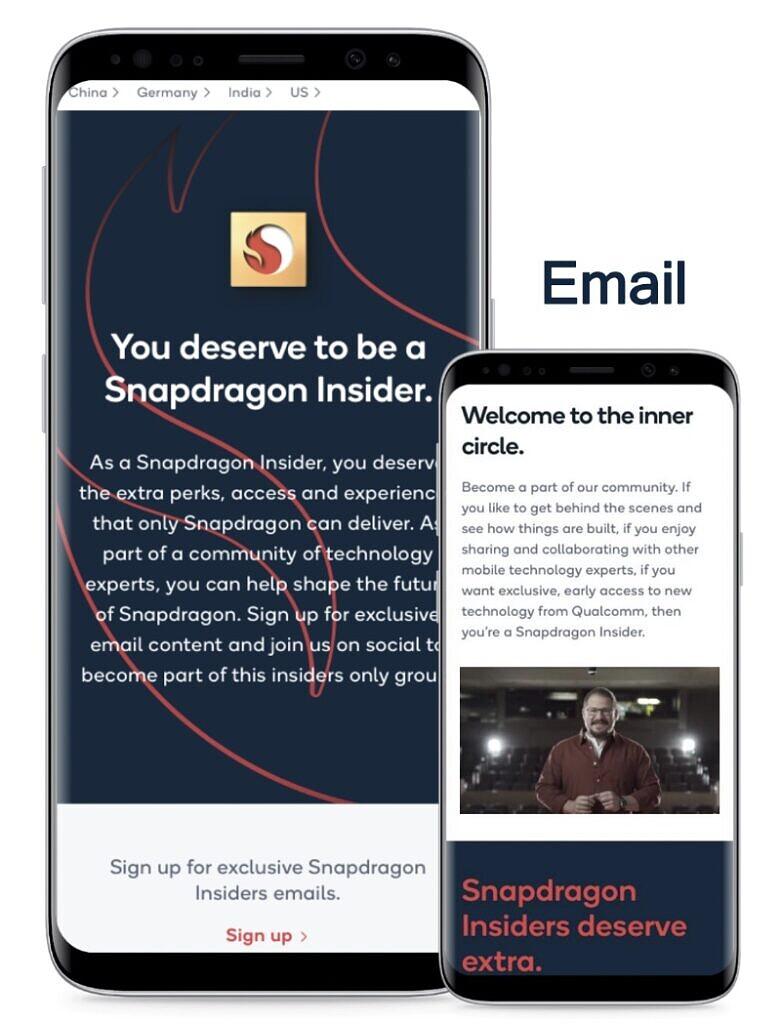 Qualcomm Snapdragon Insiders