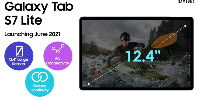 Samsung Galaxy Tab S7 Lite
