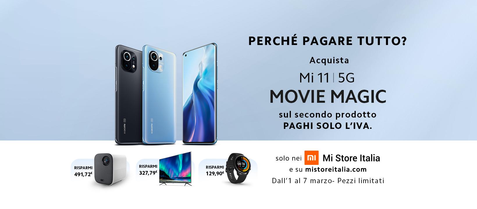 offerta lancio Xiaomi Mi 11 5G