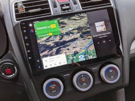 android auto split screen supporto novità