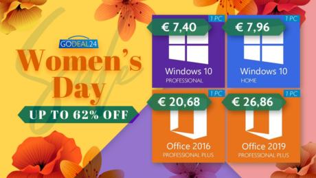 GoDeal24 Festa della donna