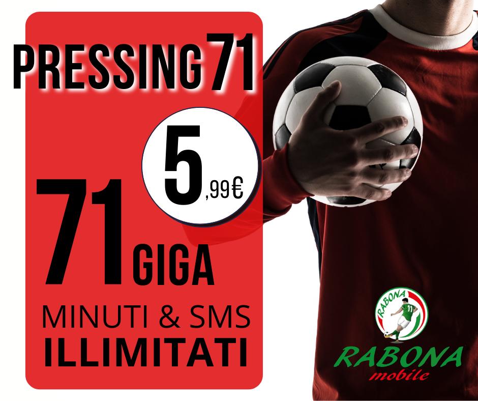 Rabona Mobile Pressing 71