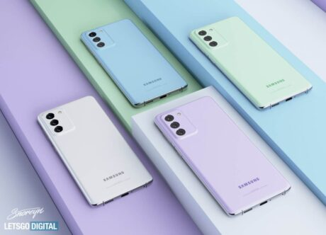 Samsung Galaxy S21 Fan Edition render