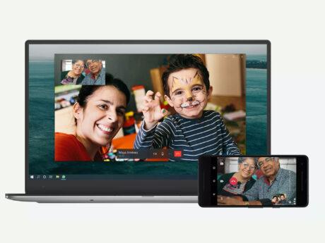 whatsapp desktop video chiamate supporto download