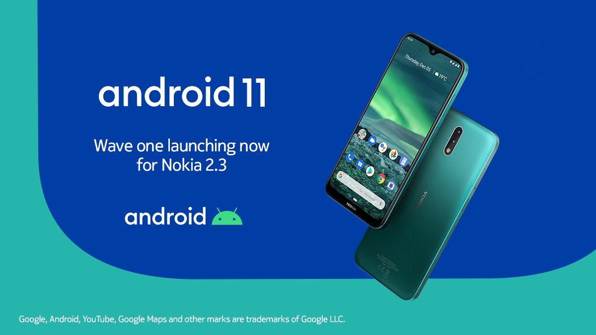 nokia 2.3 android 11