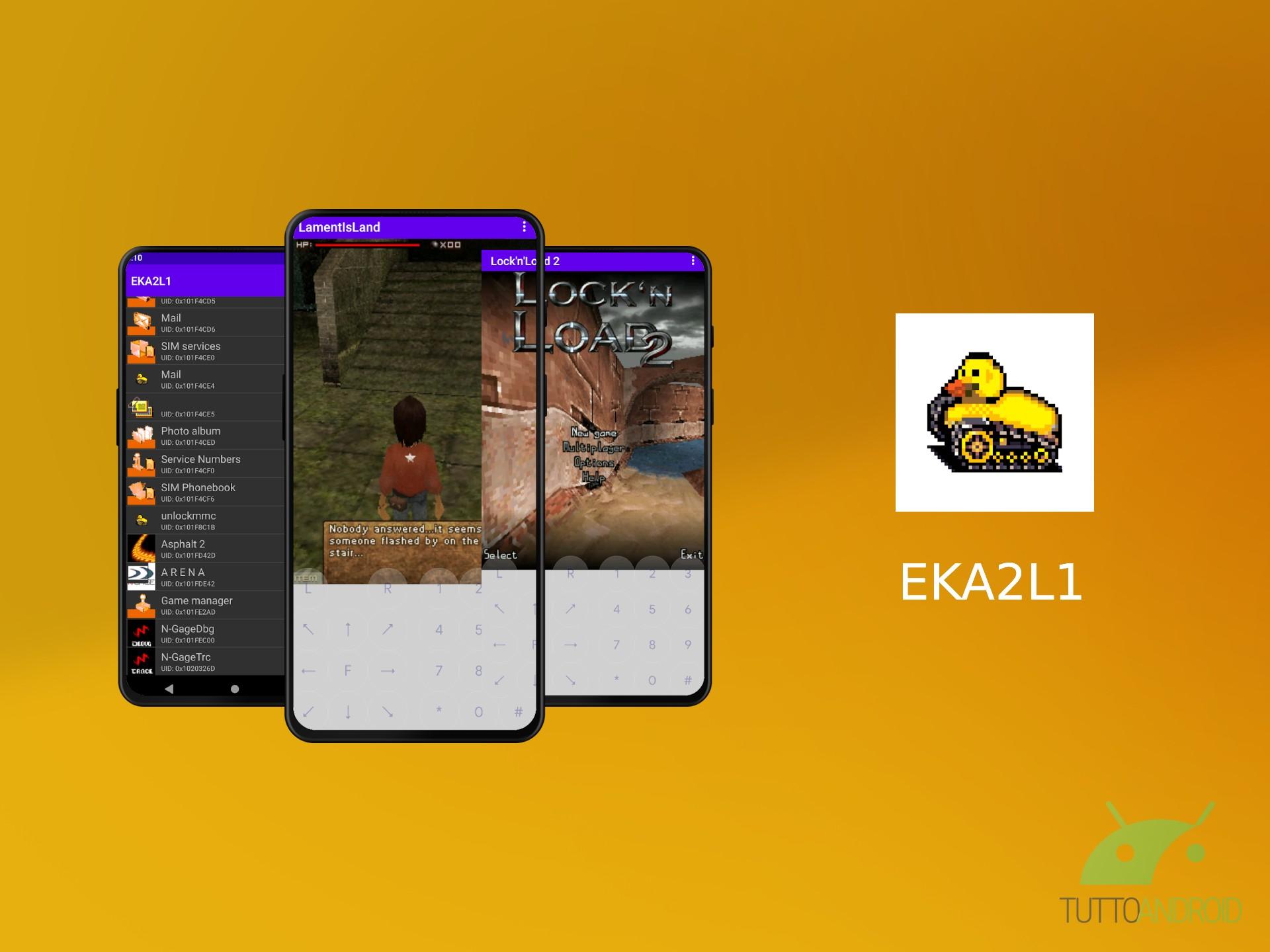 EKA2L1 permette di eseguirei giochi N- …