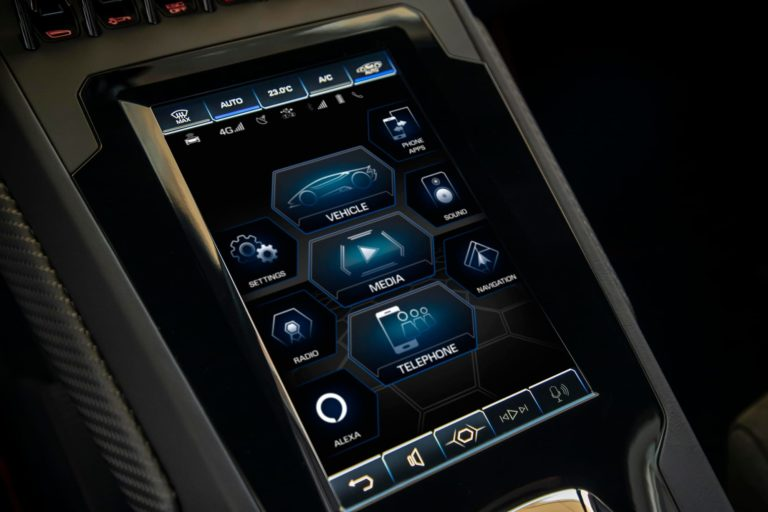 Lamborghini Huracan EVO Amazon Alexa