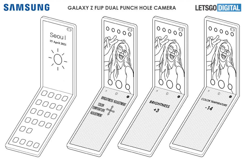 Samsung Galaxy Z Flip brevetto
