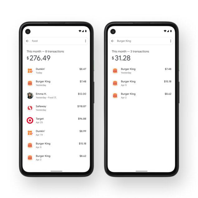google pay spesa biglietti resoconto novità