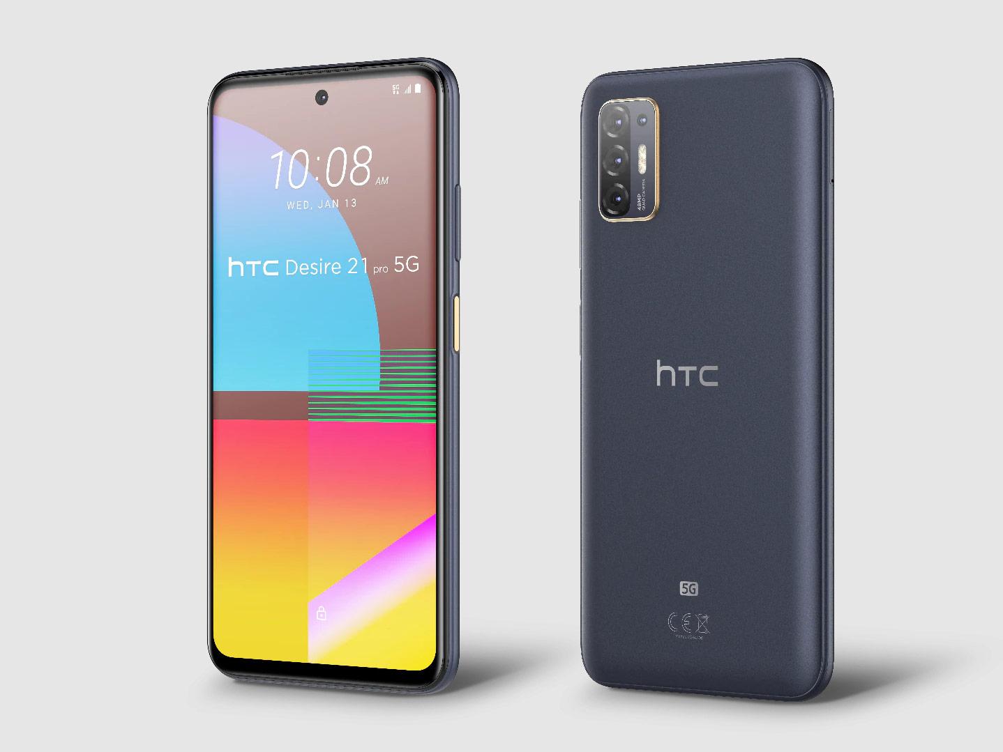 HTC Desire 21 Pro 5G sbarca ufficialment …