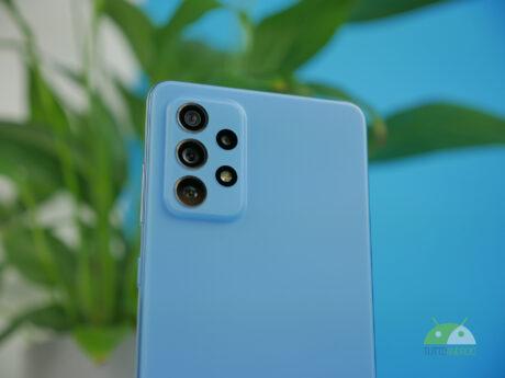 Samsung Galaxy A72 recensione foto