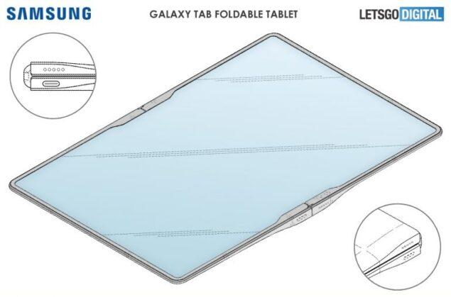 samsung galaxy tab pieghevole brevetto