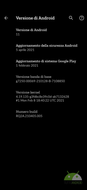 Google Pixel patch aprile 2021