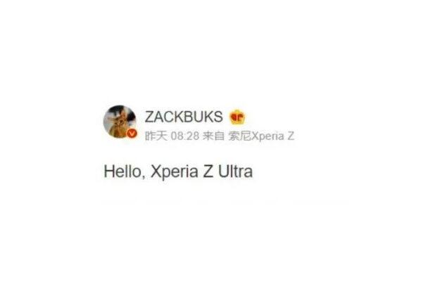 sony xperia z ultra successore rumor