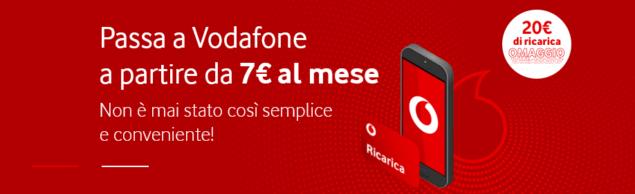 vodafone special 20 euro ricarica 18 aprile 2021