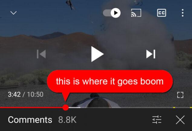 youtube commenti gmail etichetta contatti esterni novità
