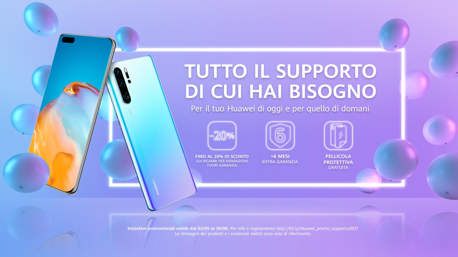 vantaggi Huawei