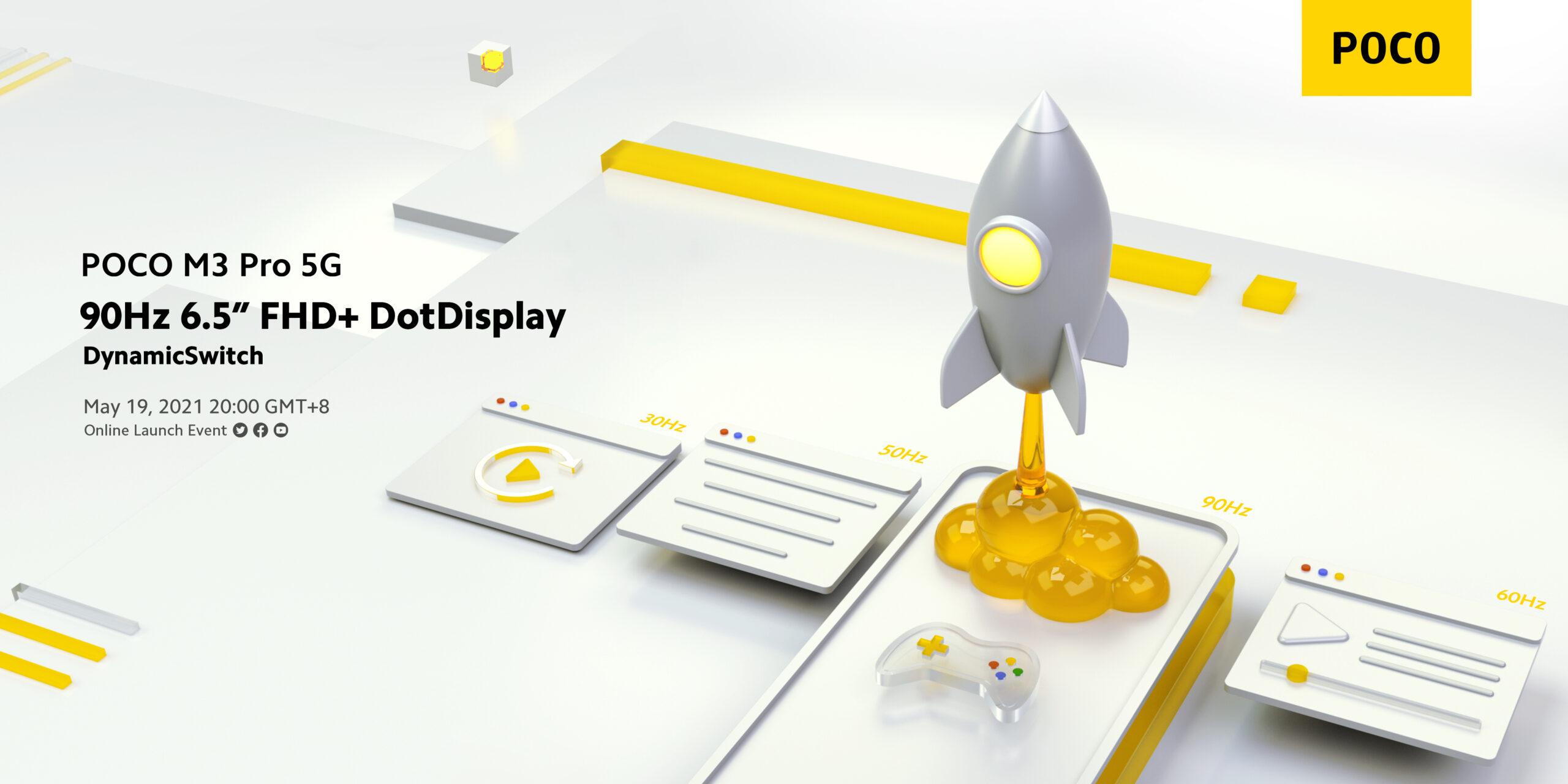 poco m3 pro 5g display