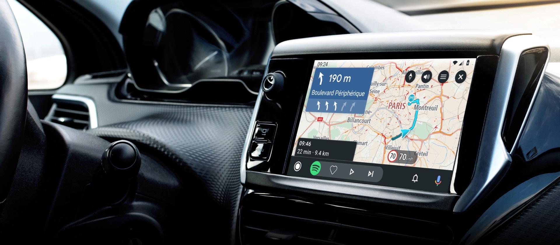 TomTom GO Navigation su Android Auto