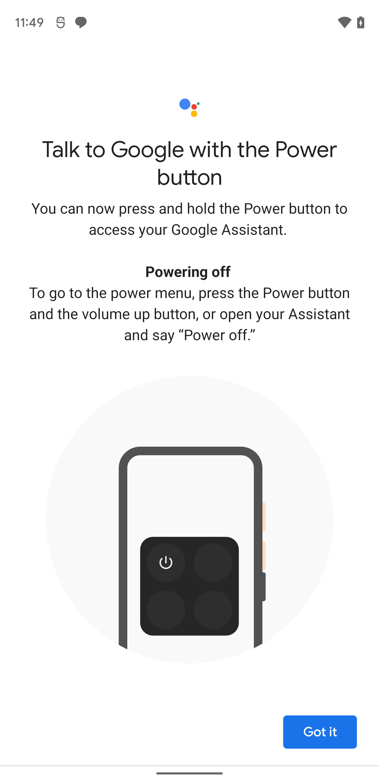 Google Assistant Android 12