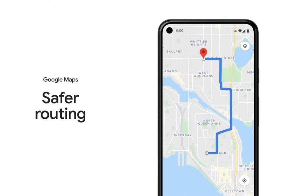 Google Maps novità Google I/O 2021