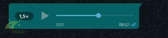 whatsapp web messaggi vocali velocità