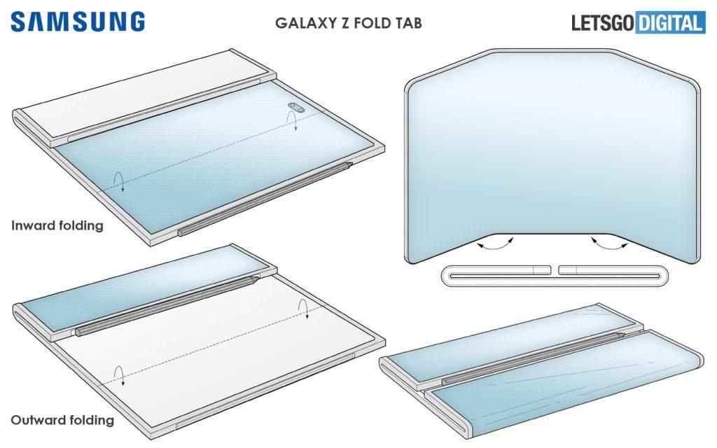Samsung Galaxy Z Fold Tab