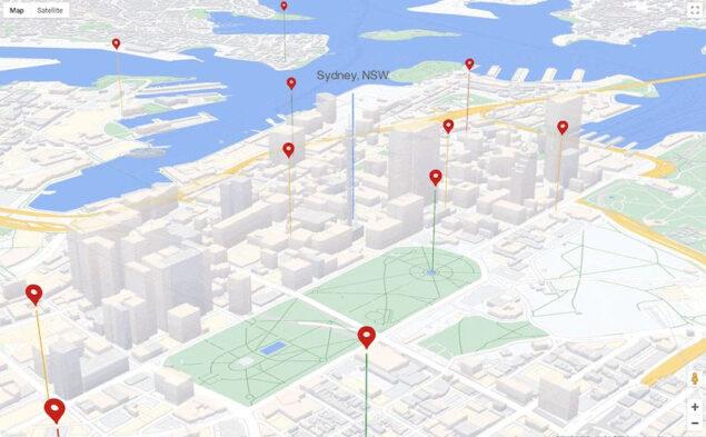 google maps webgl beta i/o 2021 novità