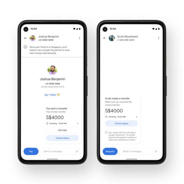 google pay invio denaro novità