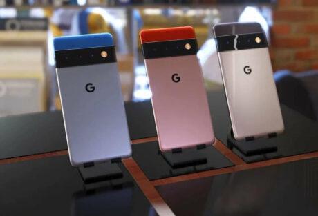 google pixel 6 pro design ricostruzione