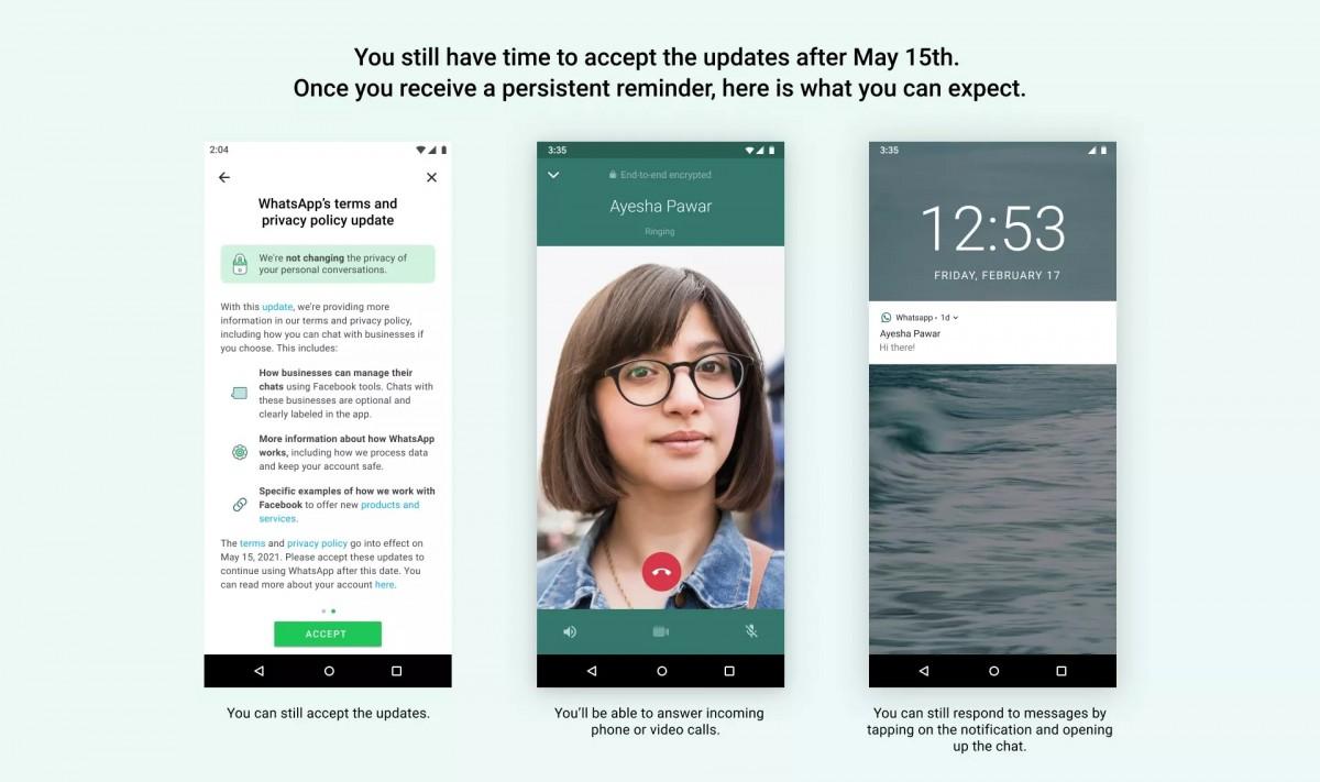 whatsapp termini 15 maggio