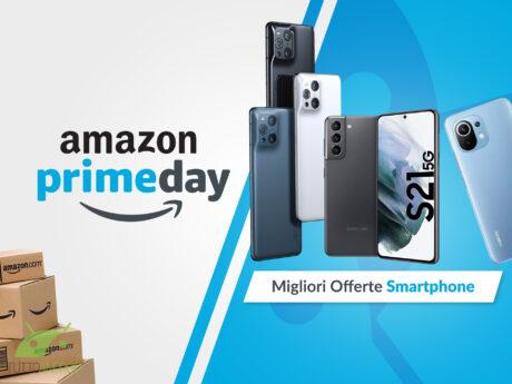 migliori offerte amazon prime day smartphone