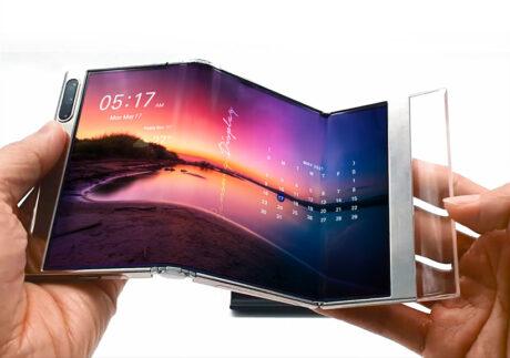 samsung display week 2021 smartphone display z