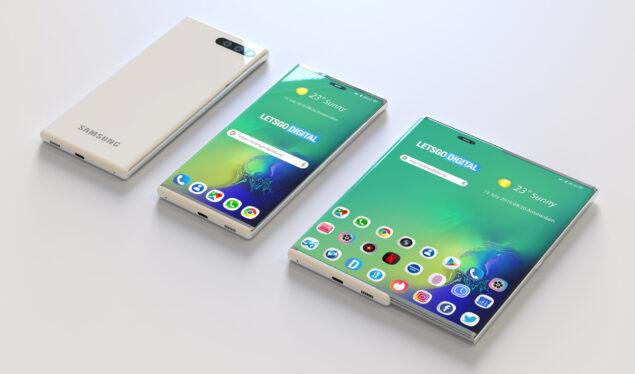 Rumor Samsung Rollable