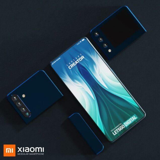 xiaomi smartphone modulare brevetto