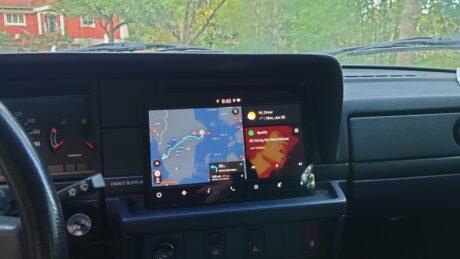 Android Automotive su Samsung Galaxy Tab S5e