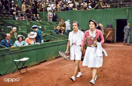 Helen Jacobs and Margaret Scriven
