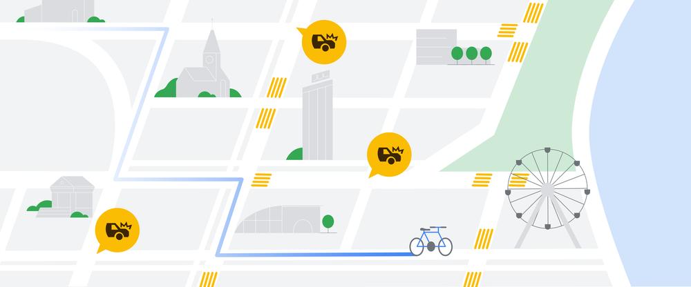 google maps percorsi sicuri