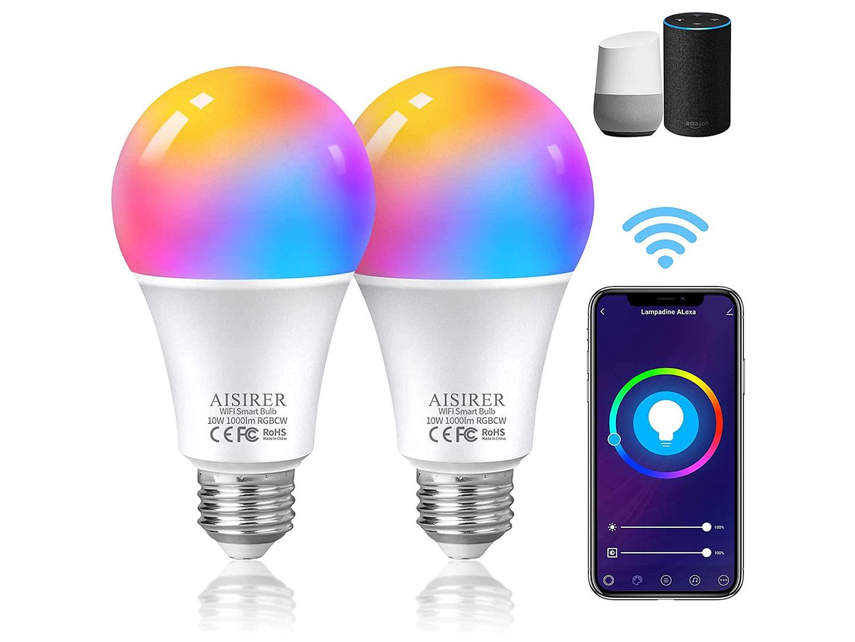 Questo set di lampadine smart Wi Fi sono in offerta a un ottimo prezzo per l'Amazon Prime Day