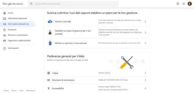 Come eliminare account Google dal PC